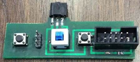 ISP адаптер для atmega128