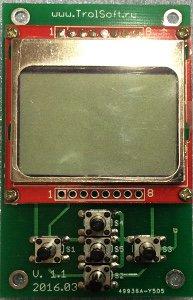 Модуль дисплея atmega8