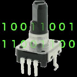 Работа микроконтроллера с энкодером