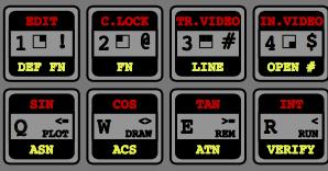 Генератор рисунка клавиатуры ZX Spectrum